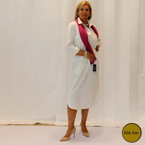 White Dress Look